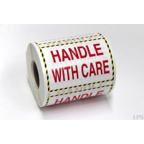 """""""Handle With Care"""" Labels"""